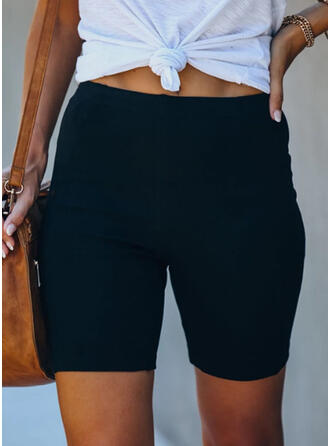 Solide Casual sportieve Shorts
