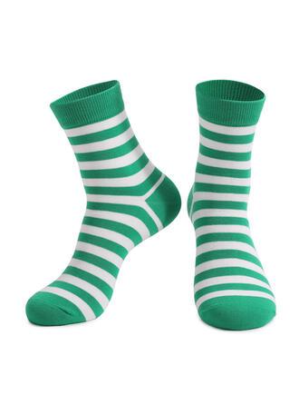 Gestreept Crew sokken/Unisex/St. Patrick's Day Sokken