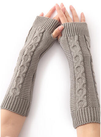 Effen kleur/haak eenvoudig/Comfortabel handschoenen
