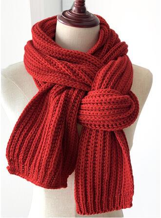 Effen kleur/haak mode/eenvoudig/Warme Sjaal