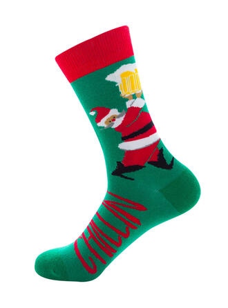 Print Comfortabel/Kerstmis/Crew sokken Sokken