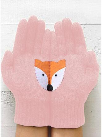 Effen kleur/Dier/Hechten aantrekkelijk/Dier Ontworpen handschoenen