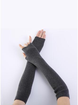 Effen kleur/haak Ademend/vrouwen/Vingers handschoenen
