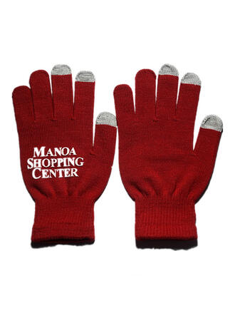 Effen kleur/Letter Koud weer/Warme handschoenen