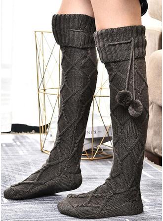 haak Warme/vrouwen/Knie hoge sokken Sokken/kousen