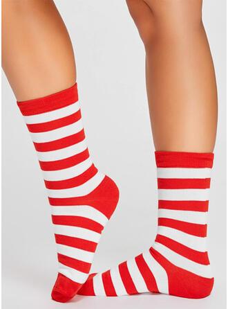 Gestreept Comfortabel/Kerstmis/Crew sokken Sokken