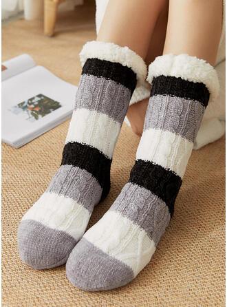 Gestreept Warme Sokken