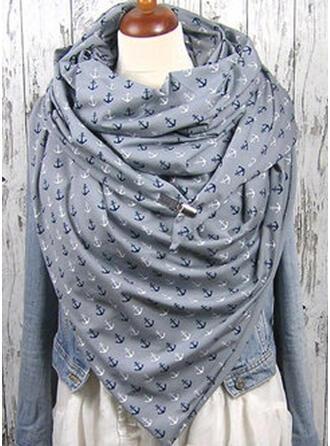 Print mode/eenvoudig/Warme Sjaal