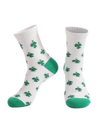 Bladeren Crew sokken/Unisex/St. Patrick's Day Sokken
