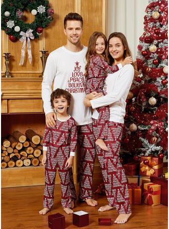 Letter Voor Gezinnen Kerst Pyjamas