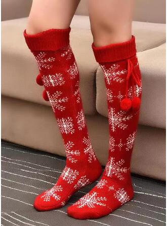 Kerstmis Stijl vrouwen Sokken