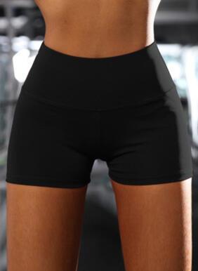 Solide sportieve Rekbaar Shorts