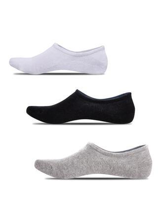 Effen kleur Antislip/No Show sokken/Unisex Sokken (Set van 5 paren)