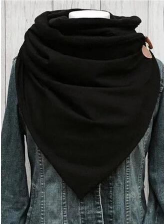 Effen kleur/Print mode/Comfortabel Sjaal
