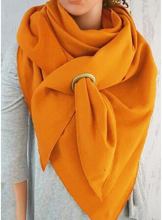 Effen kleur mode/eenvoudig Sjaal
