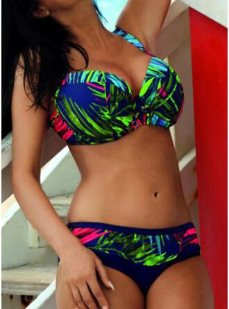 Bloemen Print Riem Sexy Bikini's Badpakken