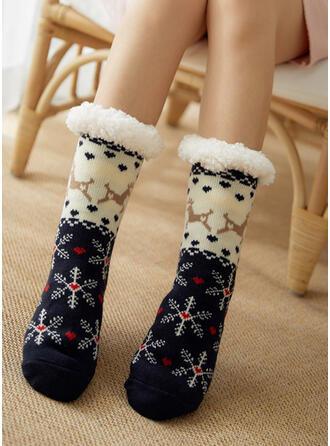 Print Warme Sokken