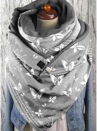 Retro /Wijnoogst/Dier mode/Ontwerp van de Vlinder Sjaal