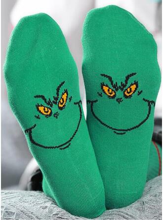 Print/Dierenprint/Kleurrijk Comfortabel/Kerstmis/Crew sokken Sokken
