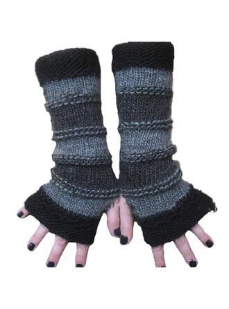 Effen kleur/Retro /Wijnoogst/Hechten eenvoudig/Ademend/Vingers handschoenen