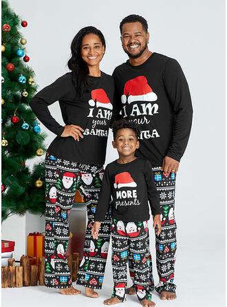 De Kerstman Letter Voor Gezinnen Kerst Pyjamas