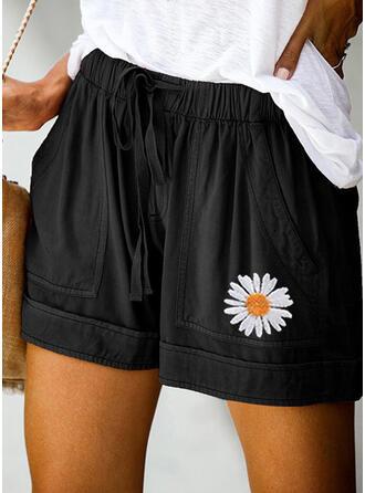Bloemen Casual Shorts