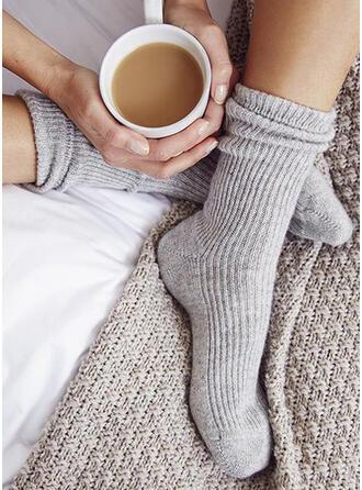 Effen kleur Warme/Comfortabel/vrouwen/Crew sokken Sokken