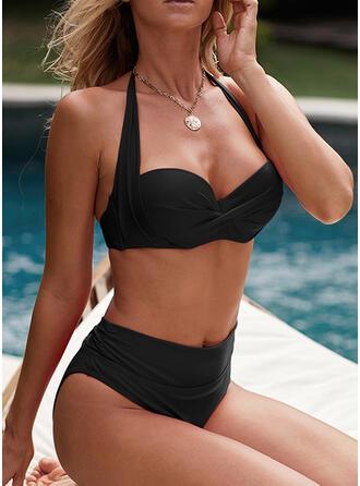 push up Halter Sexy Bikini's Badpakken