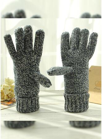 Effen kleur/haak eenvoudig/Beschermend/Vingers handschoenen