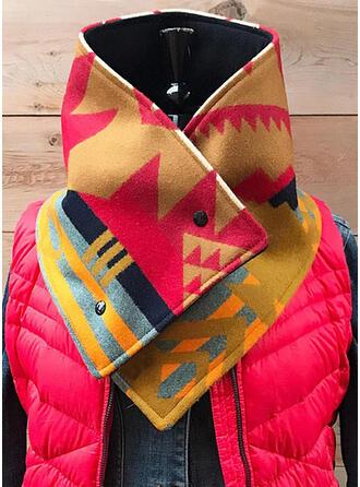 Geometrische Print lichtgewicht/mode Sjaal