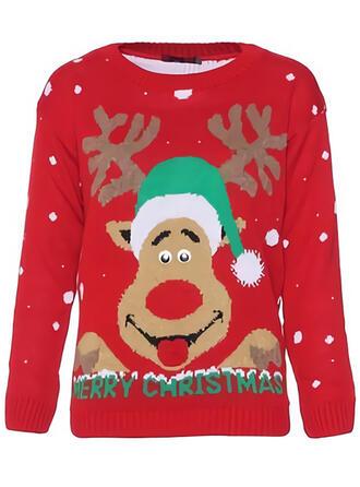 Uniseks Polyester Rendier Lelijke kerstsweater