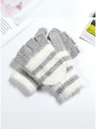 Hechten/haak Ademend/Huidvriendelijk/Meerkleurige handschoenen