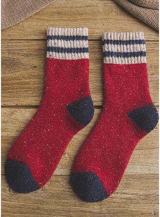 Hechten Comfortabel/Kerstmis/Crew sokken/Unisex Sokken
