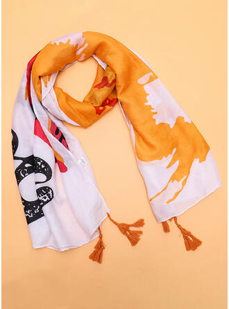 Kleurrijk Herbruikbaar/vrouwen/Eenvoudige Stijl Sjaal
