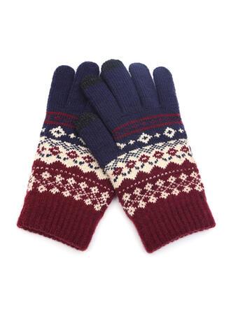 Geometrische Print/Hechten mode/Koud weer/Warme handschoenen