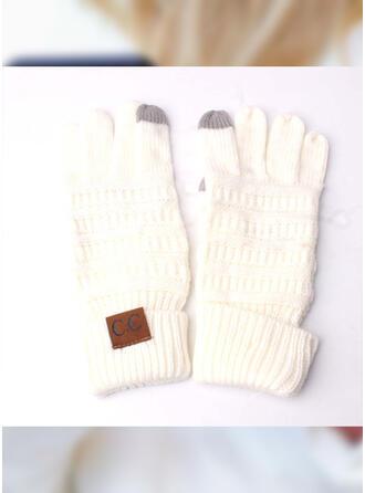 Effen kleur/meetkundig/haak Volledige dekking/Herbruikbaar/vrouwen handschoenen