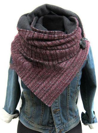 Retro /Wijnoogst mode/eenvoudig Sjaal